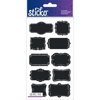 Sticko Chalk Label Stickers-Chalk Frame Labels