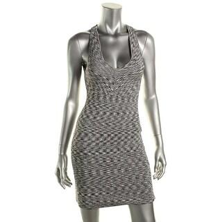 Guess Womens Stretch Criss-Cross Back Clubwear Dress
