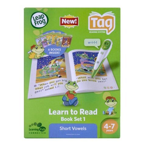 Leapfrog Tag Learn To Read Phonics Book Series Short Vowels Gr 4-7