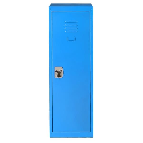 Shop Costway 48 Kid Locker Safe Storage Children Single Tier Metal On Sale Overstock 18109225