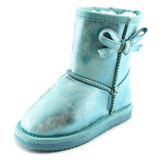 Western Chief Elsa Round Toe Synthetic Ankle Boot