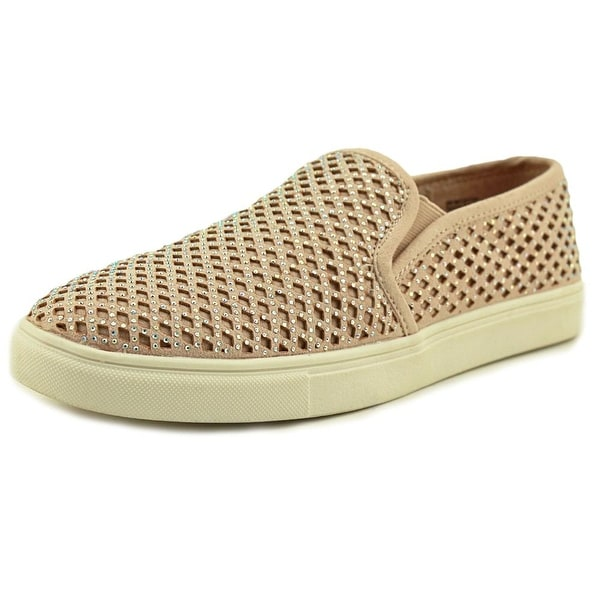 Material Girl Eidyth Women Canvas Nude Fashion Sneakers