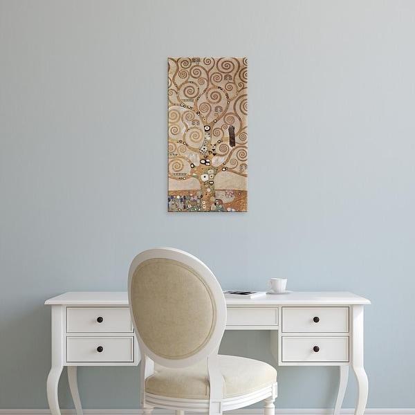 Easy Art Prints Gustav Klimt's 'Tree of Life' Premium Canvas Art