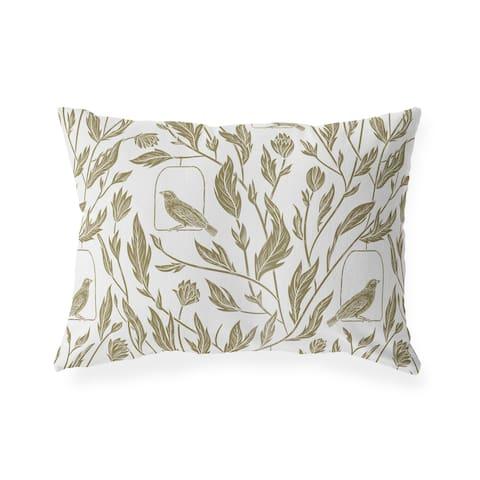 ALTHEDA BROWN Lumbar Pillow By Kavka Designs