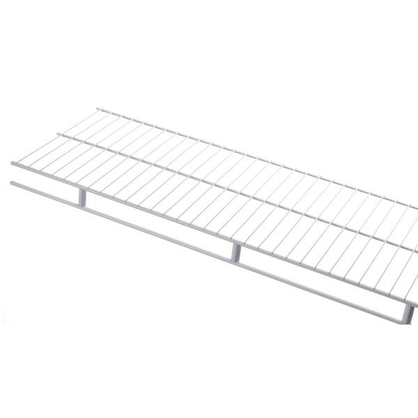 """Rubbermaid 3D9900 48"""" Long Wire Shelf - White"""