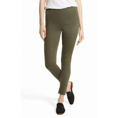 Free People Womens Olive Green Size 31x27 Pull On Ankle Stretch Pants