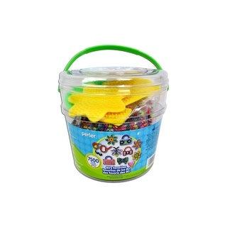 Perler Fused Bead Kit Bucket 7500pc 80's Favorites