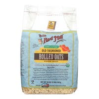 Bob's Red Mill Organic Old Fashioned Rolled Oats - 32 oz - Case of 4