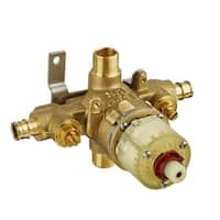 American Standard R118SS Pressure Balance Rough Valve Body Only with PEX Inlets/Universal outlets and Screwdriver Stops