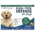 Vetri-Science Flea + Tick Defense For Dogs, 45-88 lbs, 3 Doses