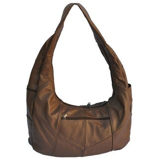 AFONiE Genuine Leather Large Hobo