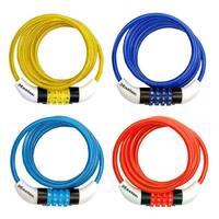 "Master Lock 8152DASTWD Word Combination Cable Bike Lock, 5'x1/4"""