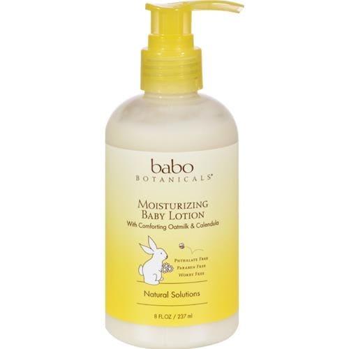 Babo Botanicals - Oat Milk Calendula Moisturizing Baby Lotion ( 2 - 8 FZ)