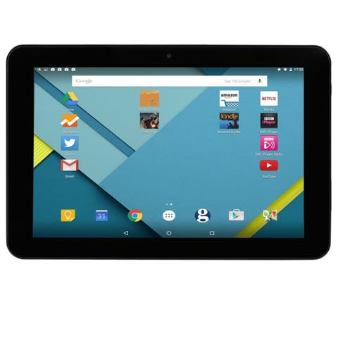 """Migros M-Budget Quad-Core 1.34GHz 10.1"""" Tablet with Android 5.0, BT & Case (Green)"""