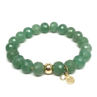"Green Aventurine London 7"" Bracelet"