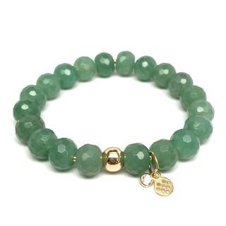 "Green Aventurine London 7"" Bracelet"