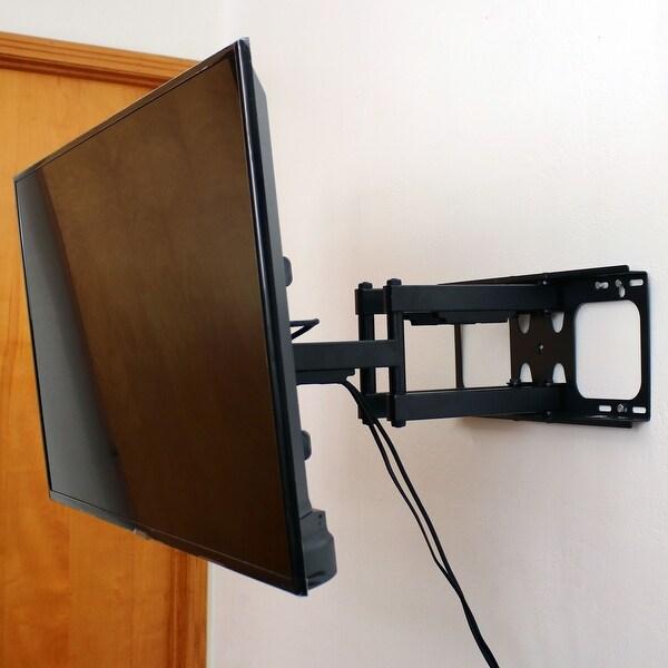 Shop casl brands full motion tv wall mount bracket set for 37 70 inch flat screen tvs on sale - Tv wall mount reviews ...