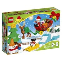 LEGO(R) DUPLO(R) Town Santa's Winter Holiday Building Kit (10837)