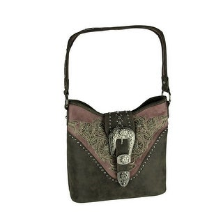 Link to Montana West Buckle Collection Concealed Carry Hobo Handbag Similar Items in Shop By Style