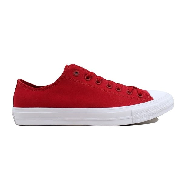 b2ec3b95082eb1 Shop Converse Men s Chuck Taylor II OX Salsa Red White 150151C - On ...