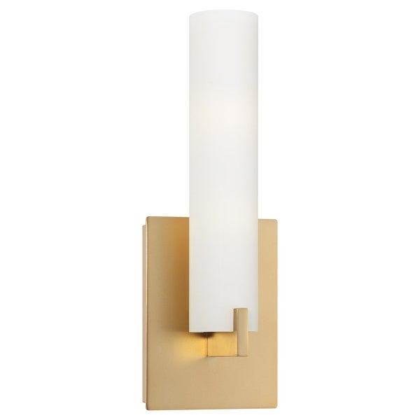 Kovacs P5040-248 1-Light ADA Compliant Wall Sconce in Honey Gold from the Tube Collection - Honey Gold