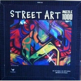 Street Art 1000 Piece Puzzle