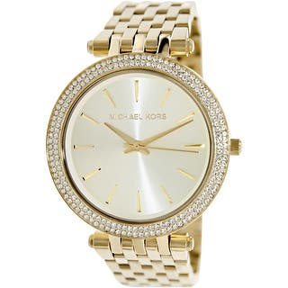 Michael Kors Women's Darci MK3191 Gold Stainless-Steel Quartz Fashion Watch|https://ak1.ostkcdn.com/images/products/is/images/direct/2da2fea1cb6d919097b20a04caca7b600880f047/Michael-Kors-Women%27s-Darci-MK3191-Gold-Stainless-Steel-Quartz-Fashion-Watch.jpg?impolicy=medium