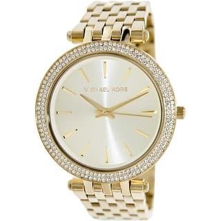 Michael Kors Women's Darci MK3191 Gold Stainless-Steel Quartz Fashion Watch|https://ak1.ostkcdn.com/images/products/is/images/direct/2da2fea1cb6d919097b20a04caca7b600880f047/Michael-Kors-Women%27s-Darci-MK3191-Gold-Stainless-Steel-Quartz-Fashion-Watch.jpg?impolicy=medium