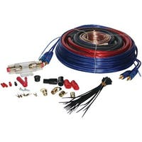 PYLE PRO PLAM40 4-Gauge 1,600 Watt Amp Installation Kit