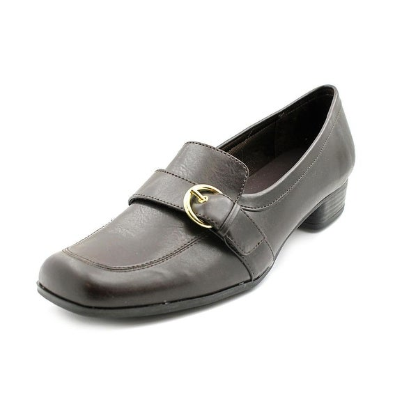 Life Stride Brianna   Square Toe Synthetic  Loafer
