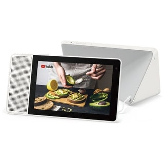 """Lenovo 8"""" Smart Display with Google Assistant White/Gray (Refurbished)"""