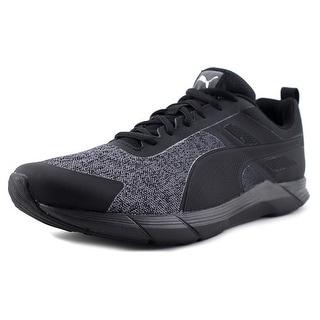 Puma Propel Heather Men Puma Black-Puma Silver Running Shoes