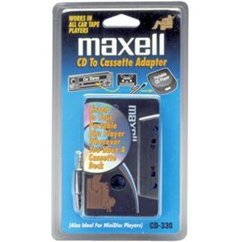 MAXELL 190038 CD-to-Cassette Adapter 190038