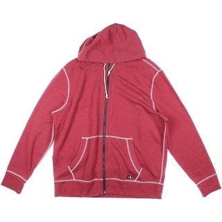 Nautica Jeans Co. Mens Heathered Long Sleeves Hooded Sweatshirt - L