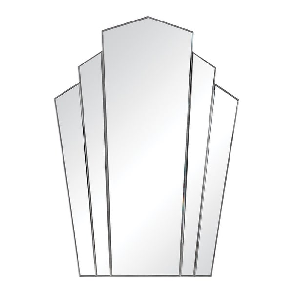 "45"" Frameless Hanging Wall Mirror - N/A"