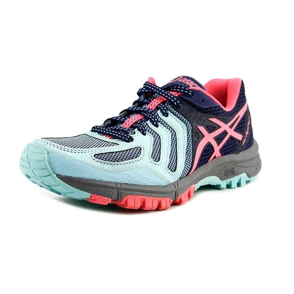 Asics Gel-FujiAttack 5 Women Round Toe Synthetic Blue Running Shoe