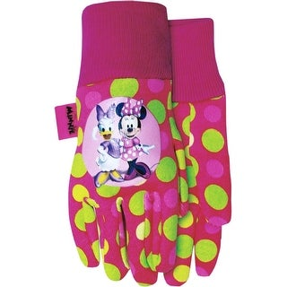 Midwest Gloves & Gear MM102T Minnie & Daisy Jersey Kids Gloves, Youth