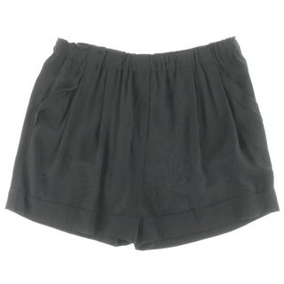 DKNY Womens Casual Shorts Silk Deep Pocket