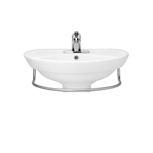 Shop American Standard 268 004 Ravenna Pedestal Sink Only With 24 1
