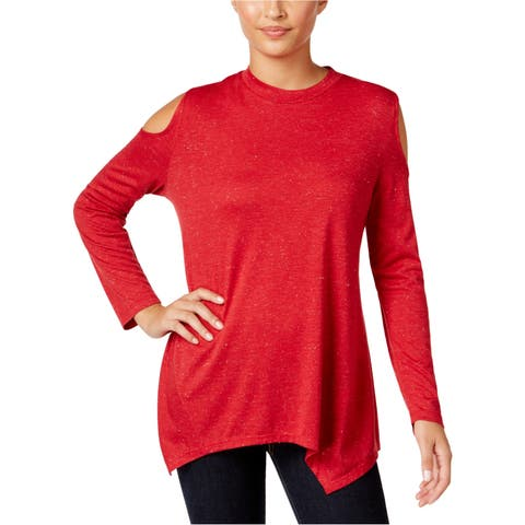 Style&Co. Womens Sparkle Pullover Blouse
