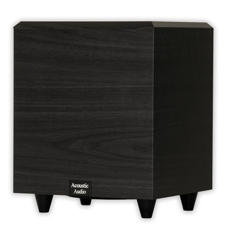 """Acoustic Audio PSW-6 Home Theater Powered 6.5"""" Subwoofer 250 Watts Surround"""