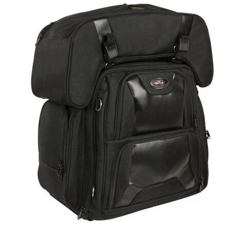 Large Textile Sissy Bar Bag 16X17X11X23 - One Size