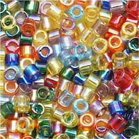 Miyuki Delica Seed Bead Mix Lot 11/0 Multi Rainbow AB 7.2 Grams
