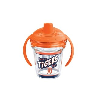 MLB Detroit Tigers Born A Fan 6 oz Sippy Cup with lid