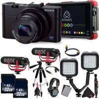Sony Cyber-shot DSC-RX100 III Digital Camera International Version  Essential Vlogging Kit