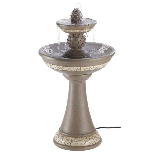 Mosaic Courtyard Fountain