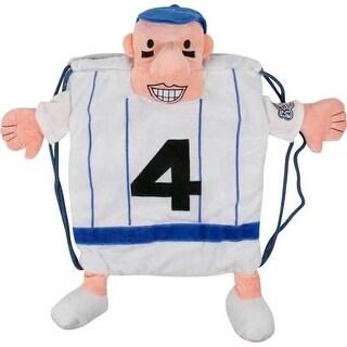 Milwaukee Brewers Racing Sausage #4 Frankie Furter Pal Sausage Backpack Pal
