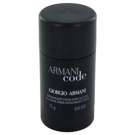Armani Code by Giorgio Armani Deodorant Stick 2.6 oz - Men