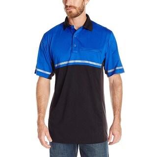 Tru Spec Polo Shirt 24 7 Roy Bl Bike Perf With Refl Royal Blue Size Small