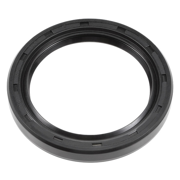 Oil Seal, TC 42mm x 56mm x 7mm, Nitrile Rubber Cover Double Lip - 42mmx56mmx7mm